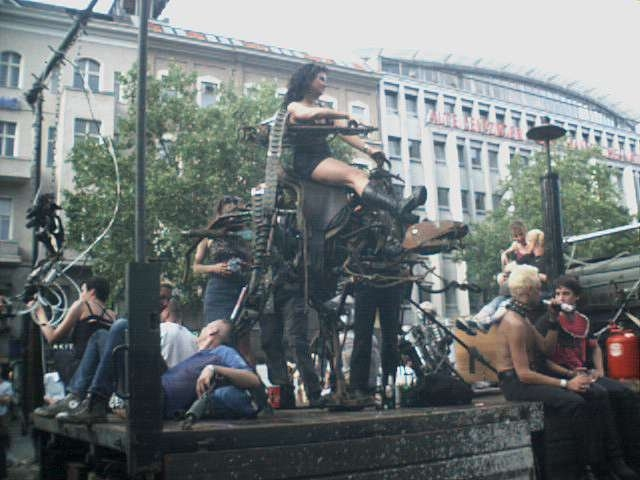 Photo vom Carneval de Erotic in Berlin am 14. Juli 2001